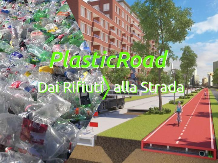 PlasticRoad la prima strada fatta...