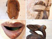 Nord Africa legno intagliato... 3