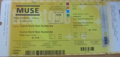 MUSE, Torino, 28/06 2