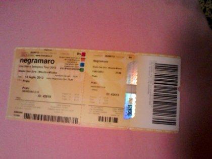 Biglietti Negramaro San Siro