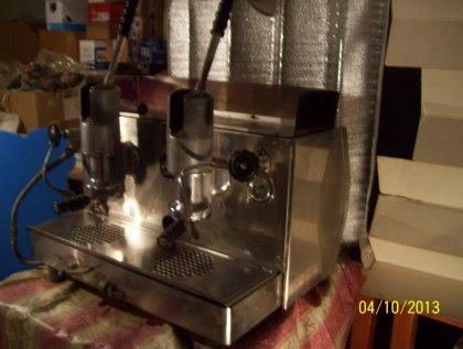 antica macchina da caffè faema... 2