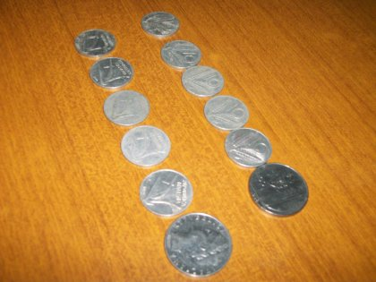 vendi monete lire italiane 1