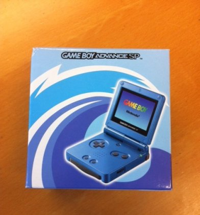 CONSOLE GAME BOY ADVANCE SP AGS-101... 1