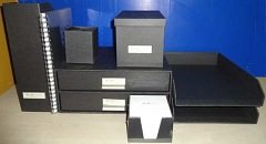 Stock stationery: Ordinett per...