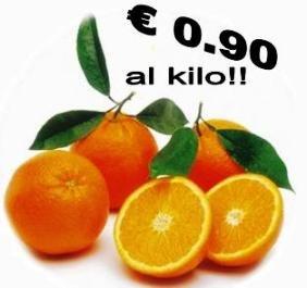 Arance tarocco della Calabria a €... 1