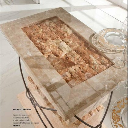 Tavoli in pietra fossilstone 3
