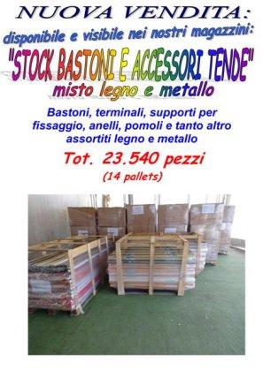 Stock bastoni per tende e accessori 1