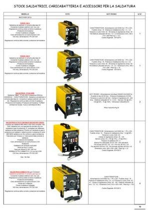 Stock saldatrici e caricabatterie 1