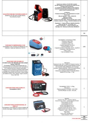 Stock saldatrici e caricabatterie 4
