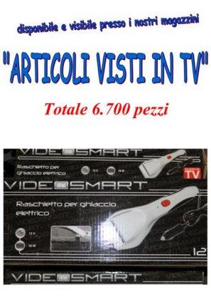 stock articoli visti in TV 1