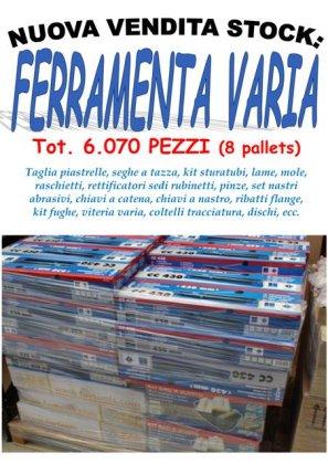 stock ferramenta varia 6070 pezzi... 1