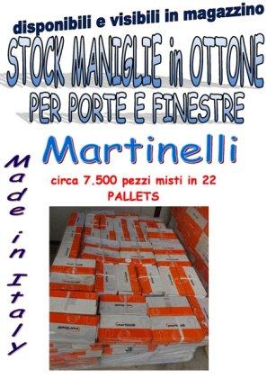 stock maniglie in ottone 7500pz 1