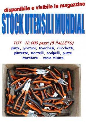 Stock utensileria Mundial 12000... 1