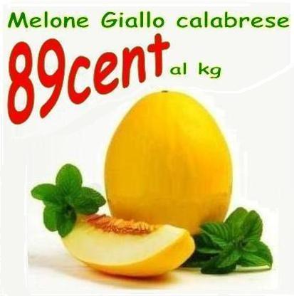 Melone giallo calabrese ad €... 1