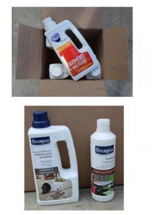 Stock detergenti per la casa 2000pz 3