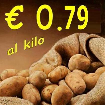 A 79cent/kg fai scorta di Patate... 1