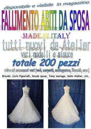 Vendita fallimentare abiti da sposa... 1