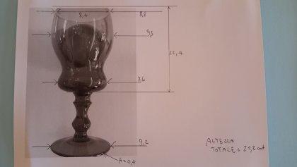 Bicchiere in vetro 4