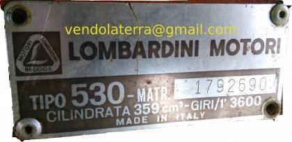 Disponibile motozappa Lombardini,... 1